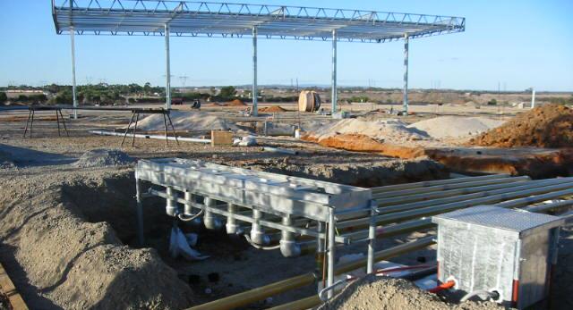 Fuel site installation